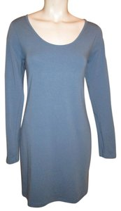 ASOS short dress blue Long Sleeve Tee Shirt Knit on Tradesy