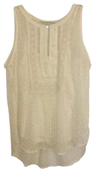 Item - Cream Blouse Size 6 (S)