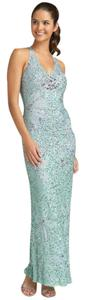 Adrianna Papell Beaded A-line Dress
