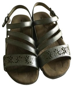Romika Silver Sandals