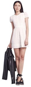 Reformation short dress White on Tradesy