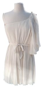 Lush Pleated One Shoulder Dress
