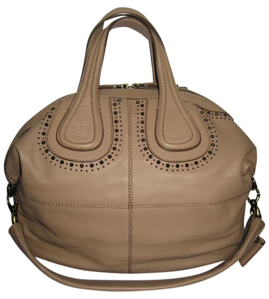 4b4d0bb0ff35 Givenchy Nightingale Medium Nightingale Studs Studded Tote in Beige Image 0  ...