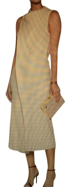 Item - Beige Mid-length Night Out Dress Size 12 (L)