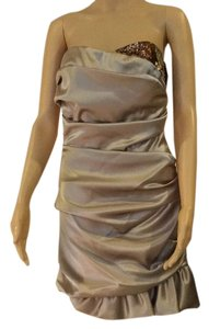 A.B.S. by Allen Schwartz short dress Gold on Tradesy