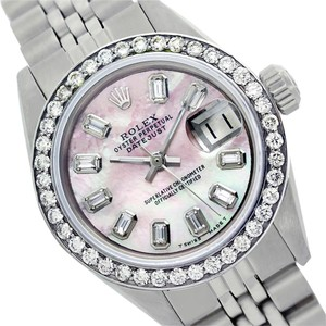 Rolex Rolex Datejust Pink MOP Diamond Baguette Lady Watch 6917