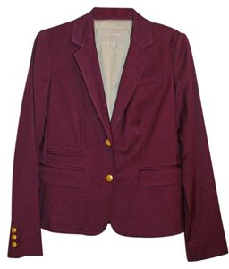 Banana Republic Burgundy Blazer