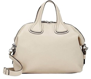 Givenchy Nightingale Buff Satchel in beige