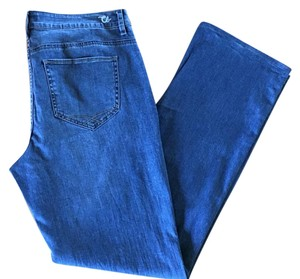 Christopher Blue Straight Leg Jeans