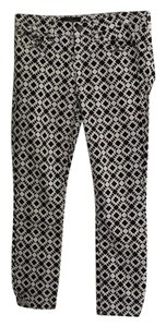 J.Crew Skinny Pants Black and white