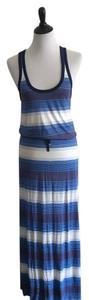 Blue and white striped Maxi Dress by Victoria's Secret