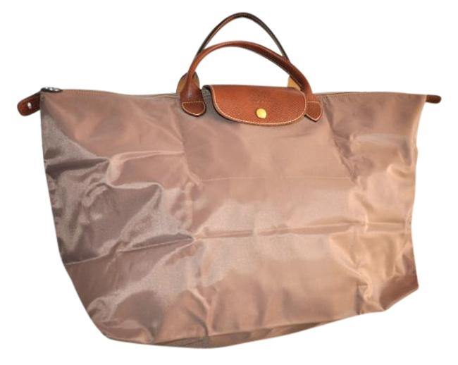 Item - La Pliage Never Used Brown Nylon Weekend/Travel Bag