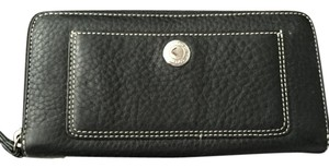 Coach Coach Pebble Leather Zip Around Wallet