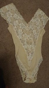 Dior Pale Yellow Body Suit