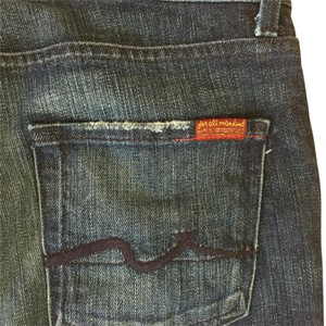 7 For All Mankind High Rise High Waist Boot Cut Jeans