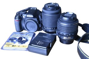 Nikon Nikon DSLR D3100 Camera With Accessories