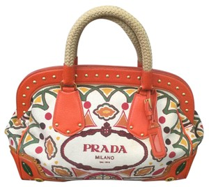 Prada Satchel in Multi