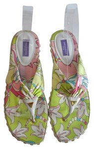 Emilio Pucci Embelished Slide Size 40 Multi color Sandals