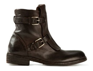 Officine Creative Legrand Leather Brown-Black Boots