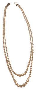 Other Double-Strand Faux Pearl Necklace