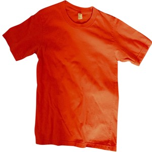 American Apparel T Shirt Red