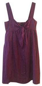 Elie Tahari short dress Purple Sun on Tradesy