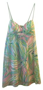 Lilly Pulitzer short dress Multi Colored Print on Tradesy