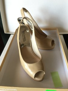 Michael Kors Sandals Dress Platform Nude Pumps