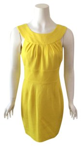 Trina Turk short dress Yellow on Tradesy