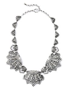 Other Deco Stone Statement Necklace