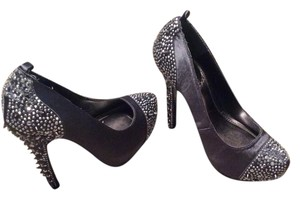 Bakers Spike Heel Grey Grey/silver Pumps