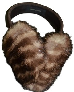 Marc Jacobs Real Fox fur ear Muffs