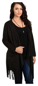 Other Plus Size Curvy Coat Suede Trench Leather Jacket