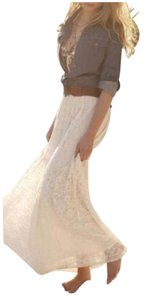 zoe&zac Maxi Skirt Cream