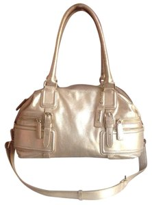 Cole Haan Satchel in Metallic Gold