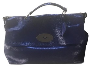 Mulberry Satchel in Cobalt Blue