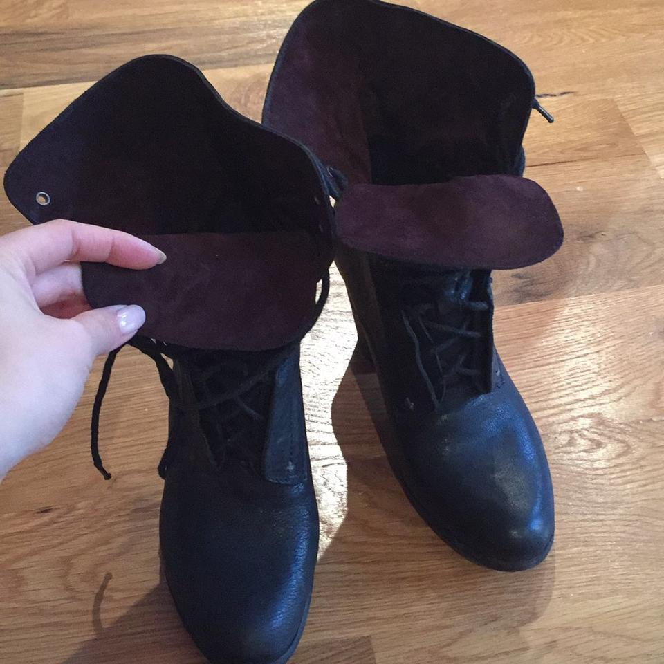 87e683bf Rag & Bone And Black Leather Boots 84% off retail