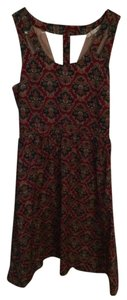 Modcloth short dress Maroon, multi on Tradesy