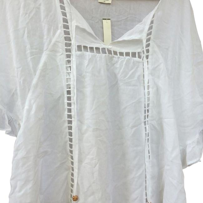 Ella Moss Top White