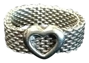 Tiffany & Co. Somerset Heart Mesh Ring