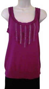 Ann Taylor LOFT Sleeveless Top Fuchsia