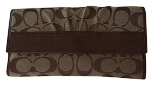 Coach Coach Wallet with Checkbook Cover