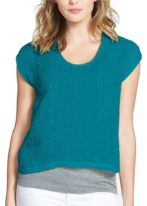 Eileen Fisher Top Yellow, Green