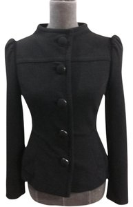 Prada Short Jacket Size 2 Black Blazer