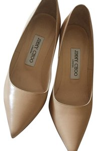 Jimmy Choo Cream or Naked Pumps