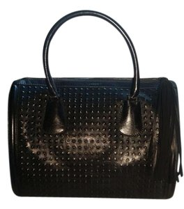 L'AGENCE Satchel in Black