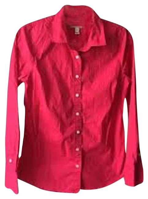 J.Crew Hot Pink Button Down Shirt - 79% Off Retail hot sale