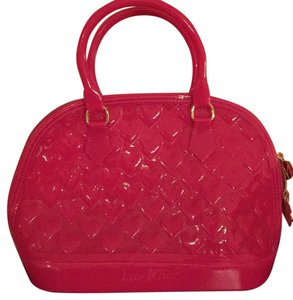 Betsey Johnson Satchel in Fuchsia