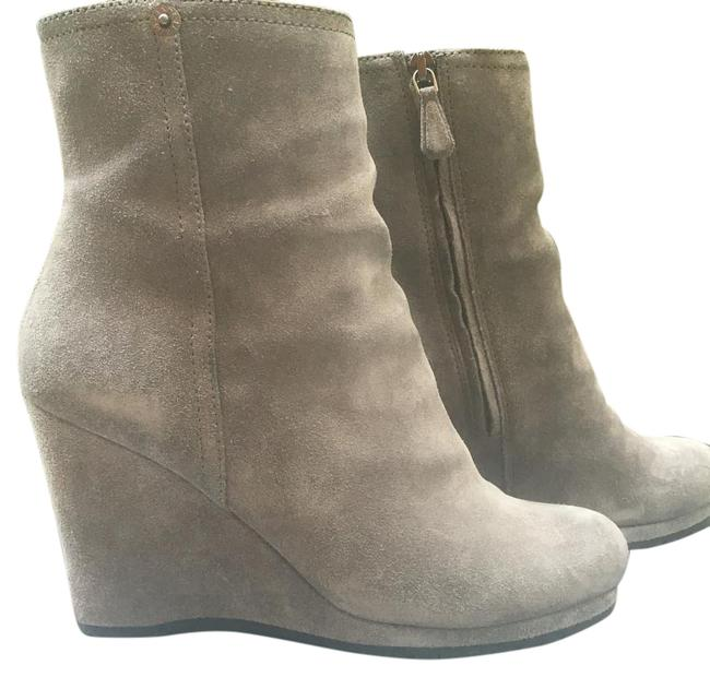 Item - Grey Boots/Booties Size US 7 Regular (M, B)