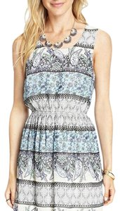 Forever 21 short dress Blue paisely on Tradesy